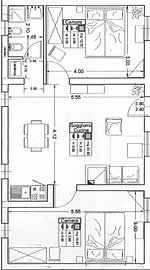 colleolivo, trilocale appartamenti santa croce